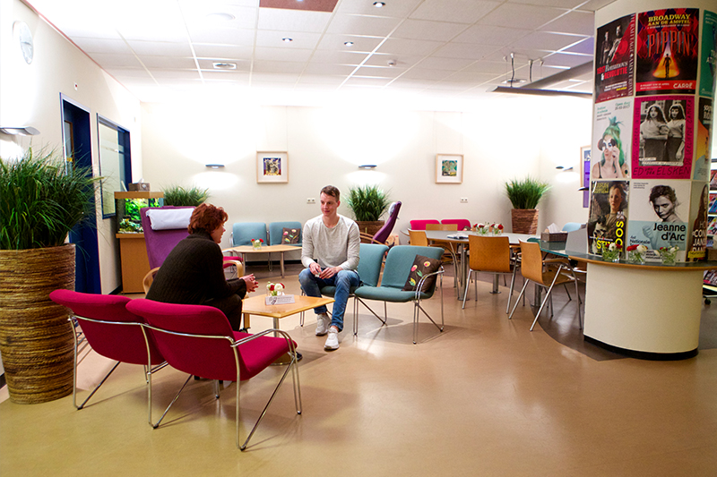 Wonderlijk Amsterdam UMC Locatie AMC - Voorzieningen in locatie AMC YW-11
