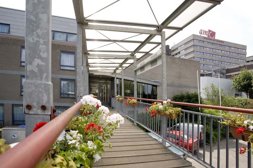 Wonderlijk Amsterdam UMC Locatie AMC - Ronald McDonaldhuis, locatie AMC AP-63